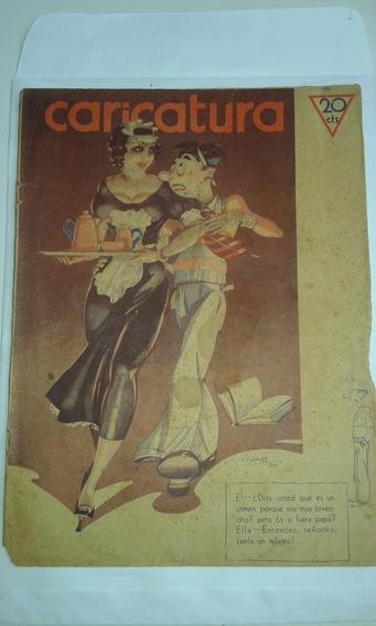 Revista Caricatura N.563 1936 Argentina Tipo Shimmy No Estad