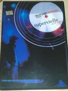 Dvd Original Nuevo Bajofondo Supervielle Live Bss 45900