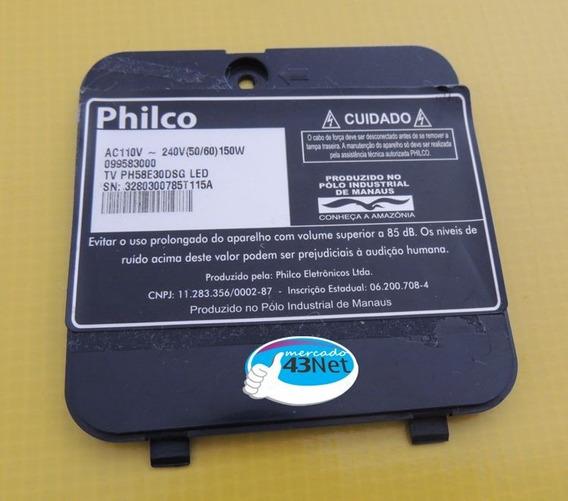 Tampa Traseira Pequena Tv Philco Ph58e30dsg