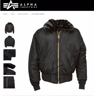 Campera Alpha Industries B15 Aviadora Original