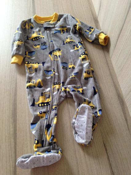 Pijama Macacão Carters Para Bebê . Original/novo