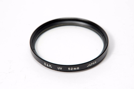 Filtro Uv S&k 52mm