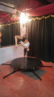 Tubo De Pole Dance Con Plataforma