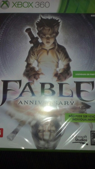 Fable Aniversary (sem Esta Aberto Ou Usado, Xbox 360)