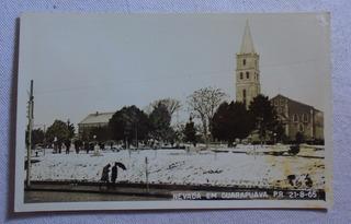 Cartão Postal Nevada Em Guarapuava Paraná