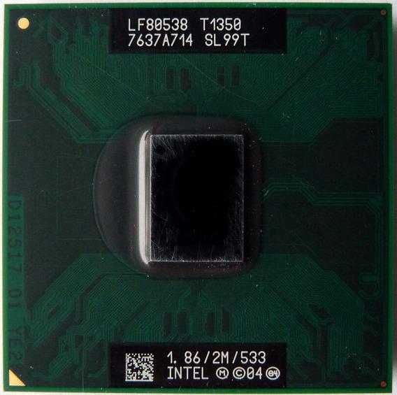 Processador Notebook Intel Core Solo T1350 Pga Sl99t