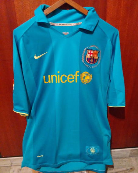 Camiseta Barcelona 2007/2008 Messi
