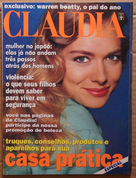 Revista Claudia Nº369 Junho/92 Milton Nascimento Leila Diniz