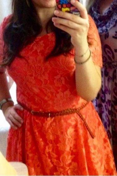 Vestido Com Abertura Nas Costas M