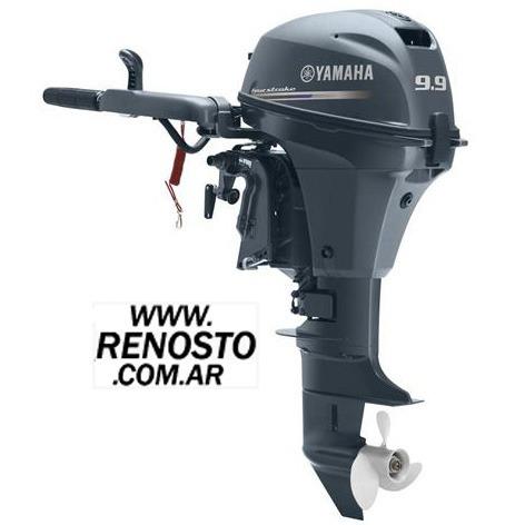 Motores Yamaha 9,9hp 4 Tiempos Pata Corta Renosto