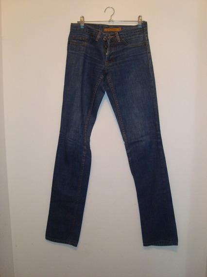 Pantalón De Jean Azul - Materia - Talle 22 - Como Nuevo!!