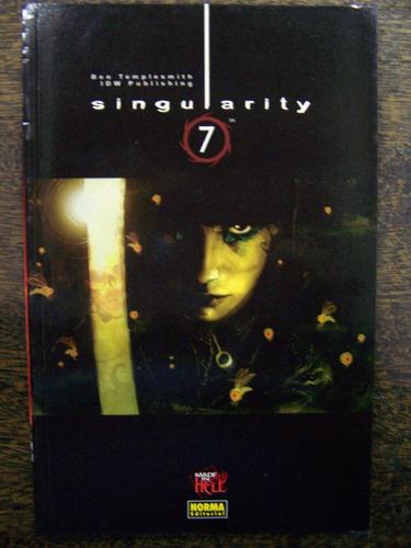 Singularity * Ben Templesmith * Norma *
