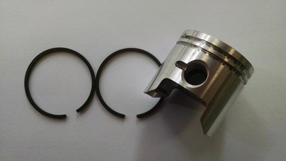 Pistão Com Aneis 40mm Para Roçadeira 2 Tempos 25 Cc