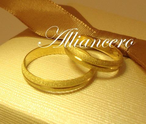 Aliança Ouro 18k 5gr - Frete Gratis - Casamento - Alliancero
