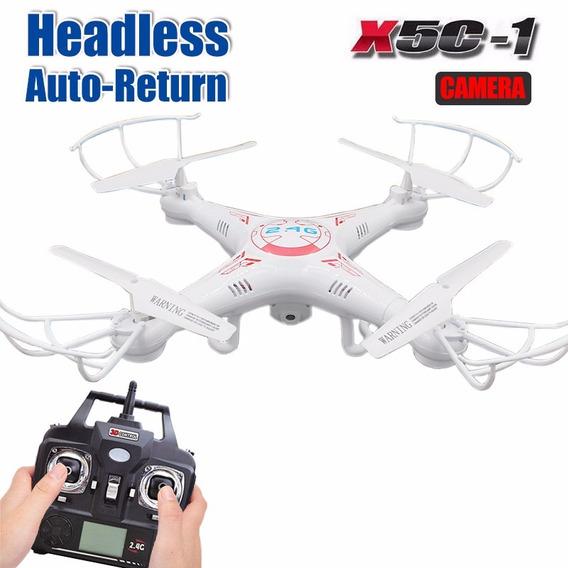 Drone Com Câmera Hd 2mp 1024x720p 6-axis Acompanha 3 Bateria