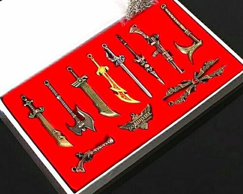 Armas League Of Legends Medallas Decorativo