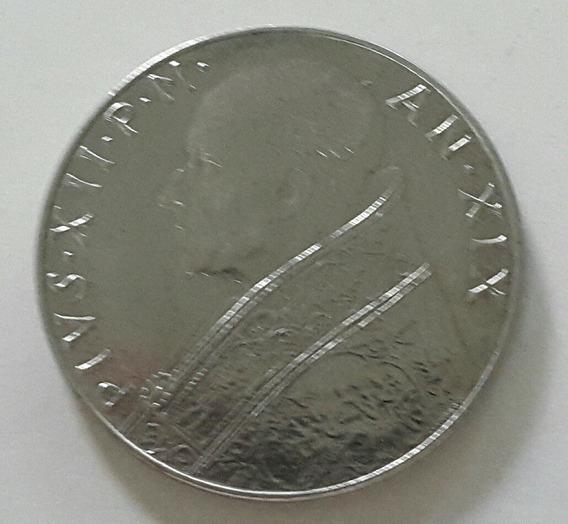 Moneda 100 Liras Ciudad Del Vaticano 1957 *058
