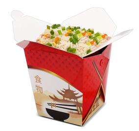 Caixa Box Comida Chinesa Food Trucks Delivery 850 Ml 50 Ch1