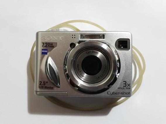 Câmera Sony Cybershot 7,2 Mp
