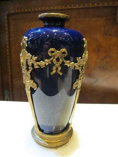Antiguo Florero De Porcelana Sevres