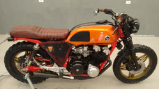 Café Racer Scrambler Cb 750 Four Bold´or 1979 Placa Preta.