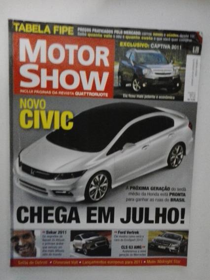 Revista Motor Show - N° 335 - Fevereiro 2011 - Frete Grátis