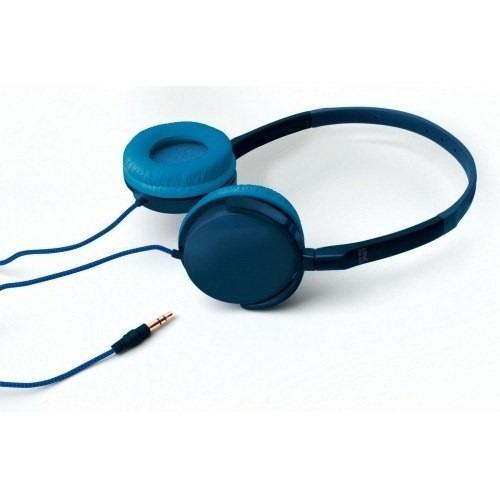 Fone De Ouvido Azul Tipo Headphone Comfor One For All Sv5335