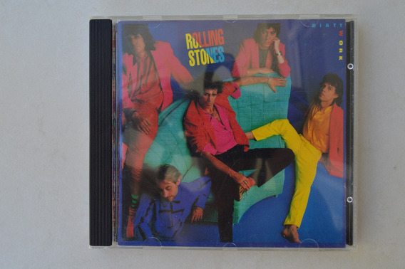 Cd Rolling Stones - Dirty Work