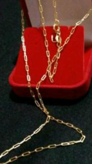 Cordão 70cm Banhado A Ouro 18k, Frete Grátis, Garantia 1 Ano