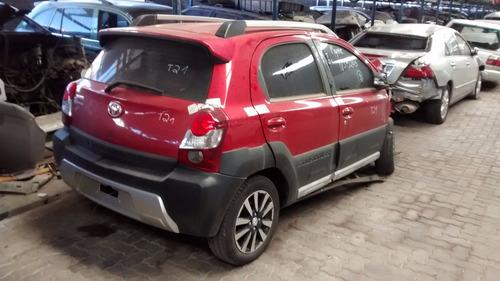 Sucata Toyota Etios Hb Cross E Sedan Bartolomeu Peças