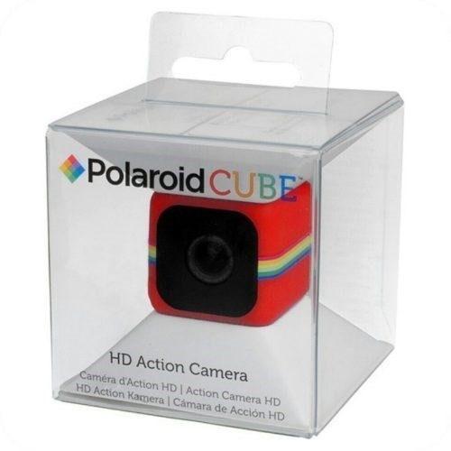 Polaroid Cube Vermelha Nova