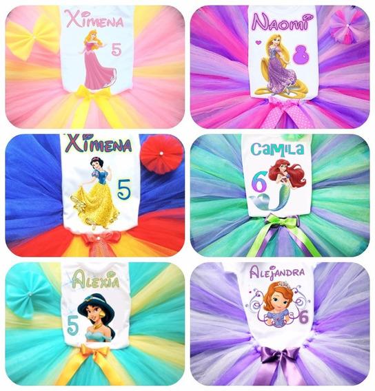 Tutus Personalizados Para Niñas Cualquier Personaje 6 A 12
