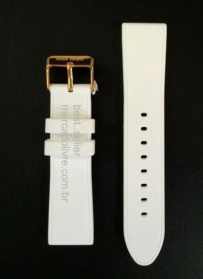 Pulseira Relógio Silicone 22mm Mormaii Mo2036aa Mo2036aa/8b