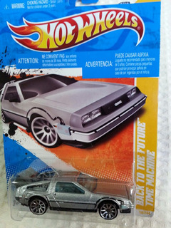 Hot Wheels Back To The Future Time Machine Delorean