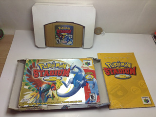 *** 315. Pokemon Stadium 2 Completo *** Nintendo 64 Pokechay