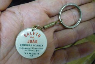 Chaveiro Antigo Galeto Do João - S J Meriti - Rio De Janeiro