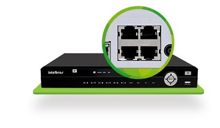 Dvr Intelbras Nvd Full Hd 16 Ch Ip 3116 - Para Camera Ip!!