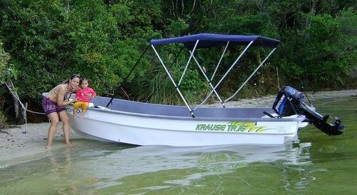 Imagem 1 de 12 de Krause Boats Tr 16 -  Lancha Pesca - Barco Rede- Panga Style