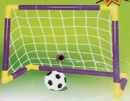 Arco Mini Futbol Para Niños Desarmables Plastico Resistente