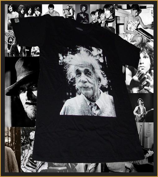 Camisa Camisetas Masculina Baby Look Albert Einstein