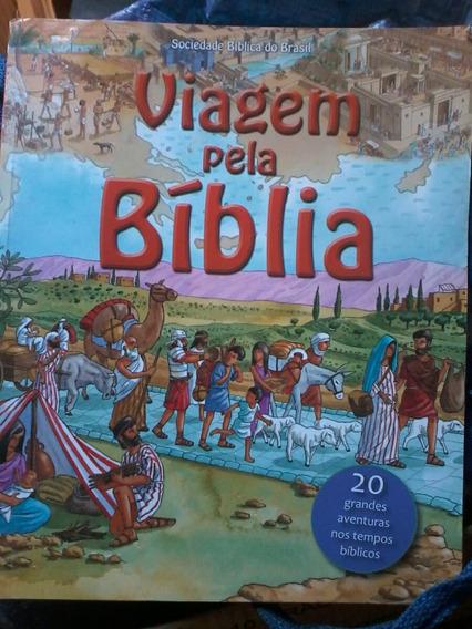 Livro Viagem Pela Bíblia Infanto-juvenil