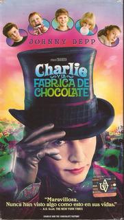 Charlie Y La Fabrica De Chocolate Johnny Depp Tim Burton Vhs