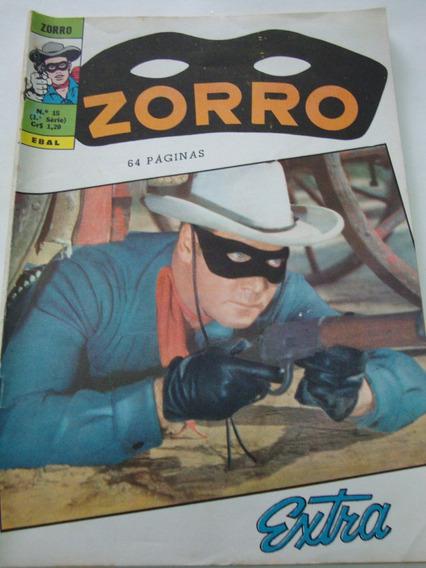 Zorro Nº 15 De 1971 Extra Ebal Gibi Raro Antigo Excelente