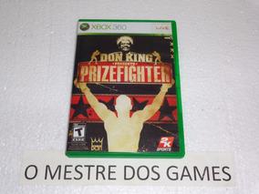 Somente O Manual Do Jogo Prizefighter Para Xbox 360