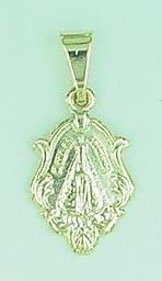 Medalhinha De Nossa Senhora Da Aparecida Folheada A Ouro****