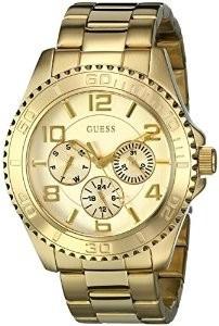 Relógio  Guess Mod.wo231l2  Dourado Unisex Original