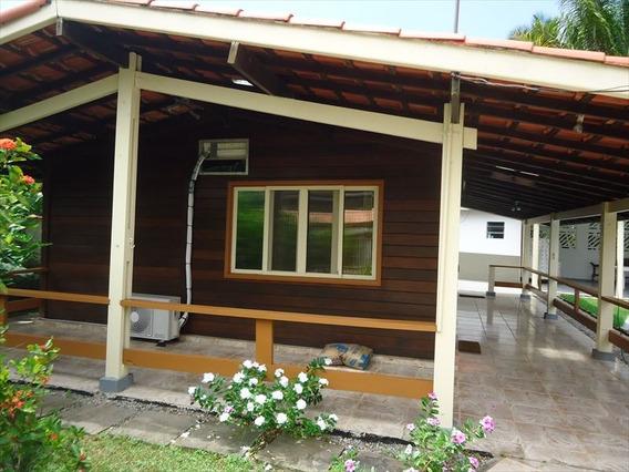 Ref.: 608 - Casa Condomínio Fechado Em Bertioga, No Bairro Guaratuba Costa Do Sol - 3 Dormitórios