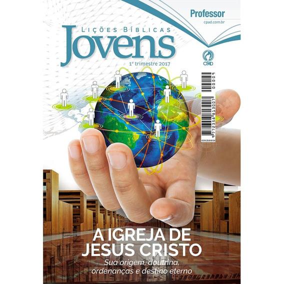 Revista Escola Bíblica - Jovens 1º Tri / 2017 - Professor