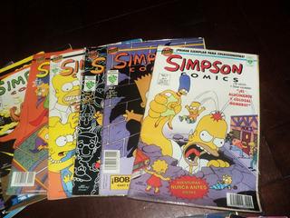 Colección Simpson Comics Historietas Bongo Lote