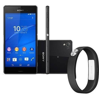 Smartphone Sony Xperia Z3 Preto Tv Digital D6643 Nacional